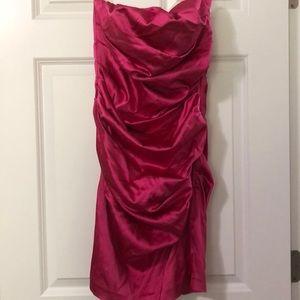 Pink minidress